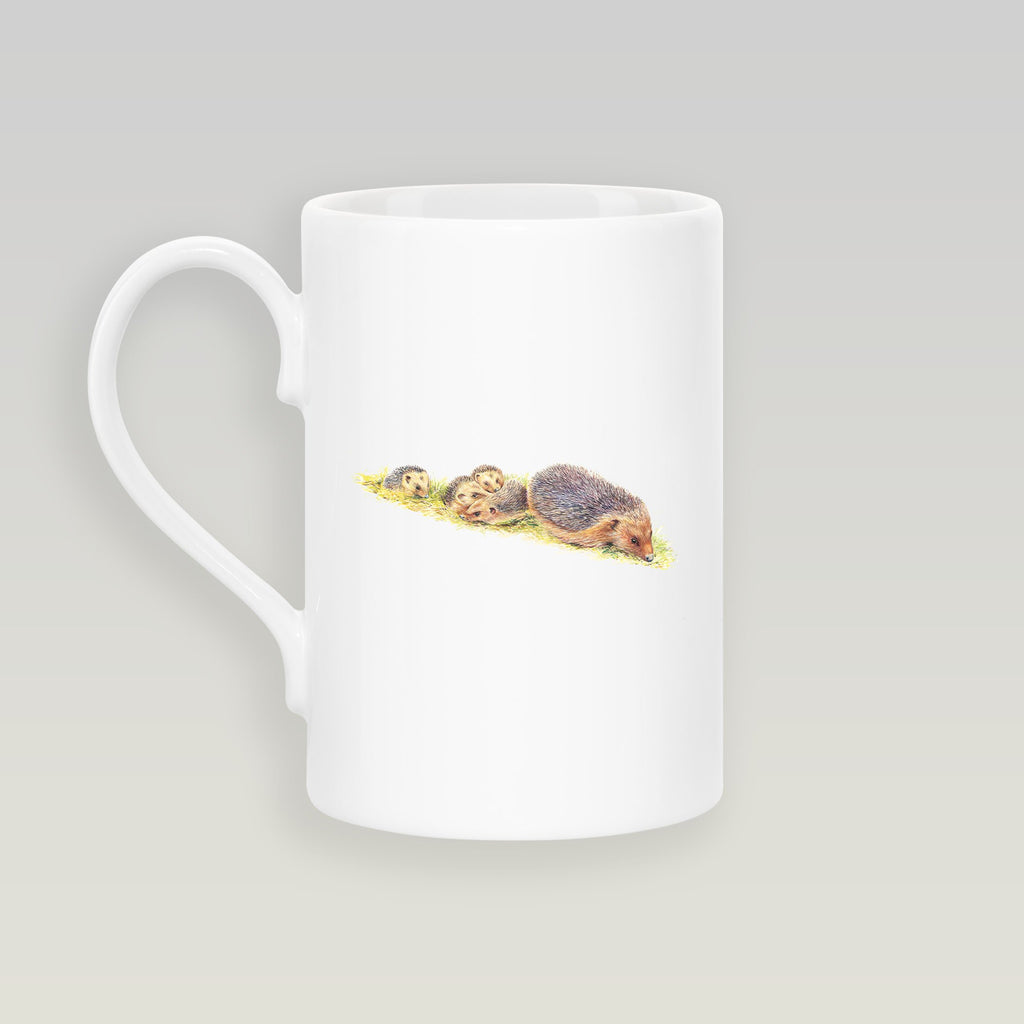 Hedgehogs Slim Mug - Countryman John
