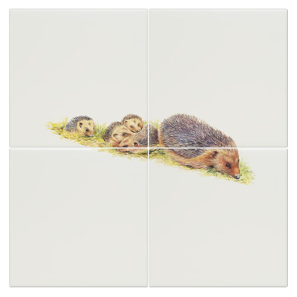 Hedgehogs Tile - Countryman John