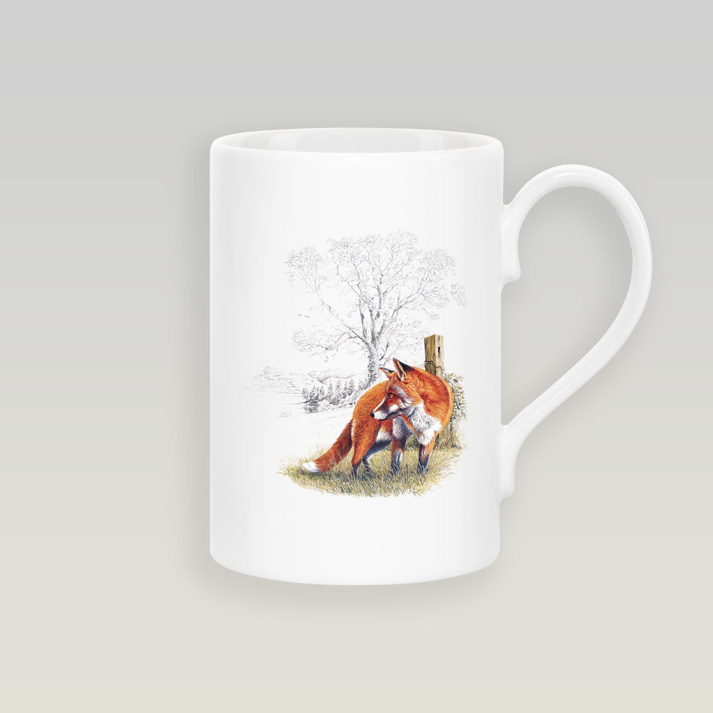 Fox Slim Mug - Countryman John
