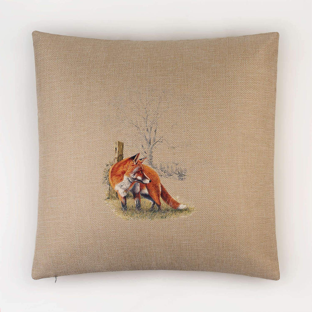 Fox Cushion - Countryman John