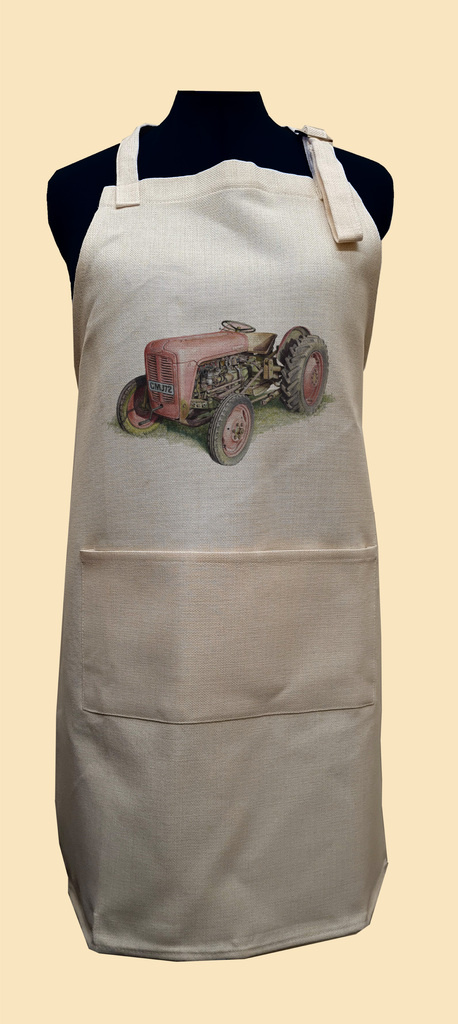 Red Fergusson Tractor Apron