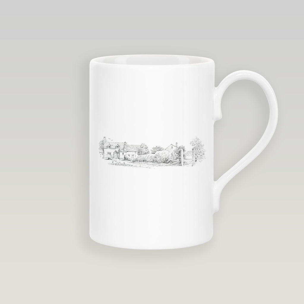 Cottage Garden Slim Mug - Countryman John