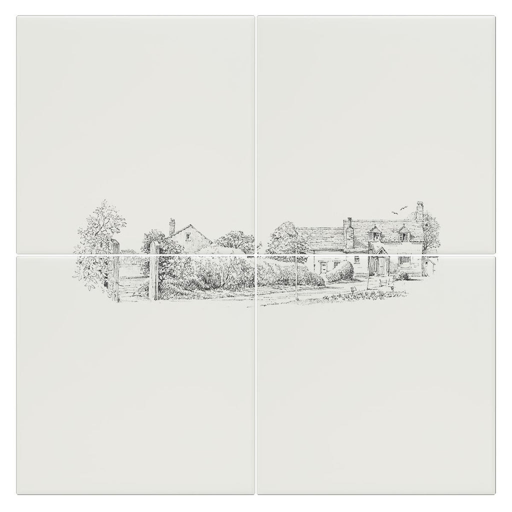 Cottage Garden Tile - Countryman John