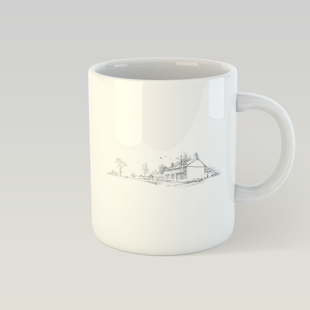 Country Cottages Mug - Countryman John