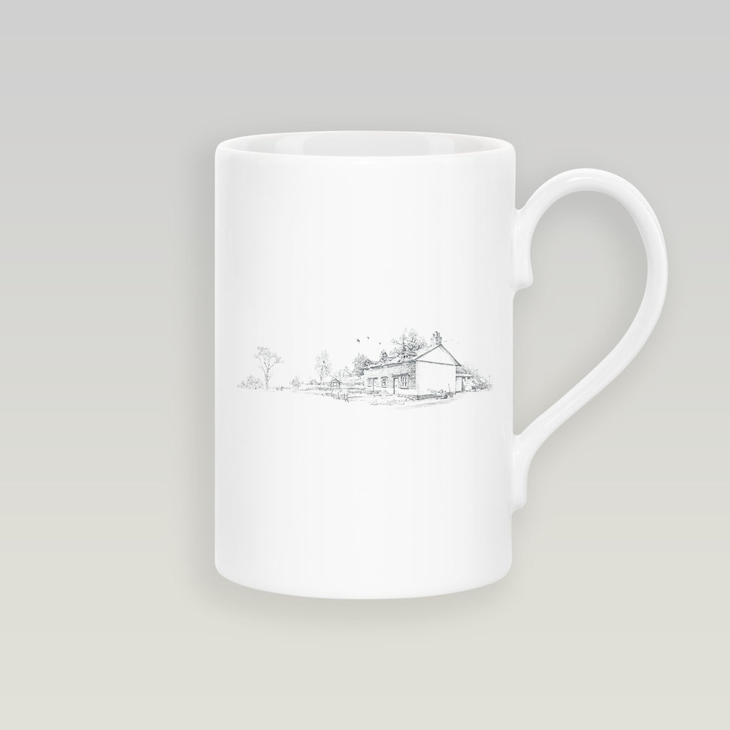 Country Cottages Slim Mug - Countryman John