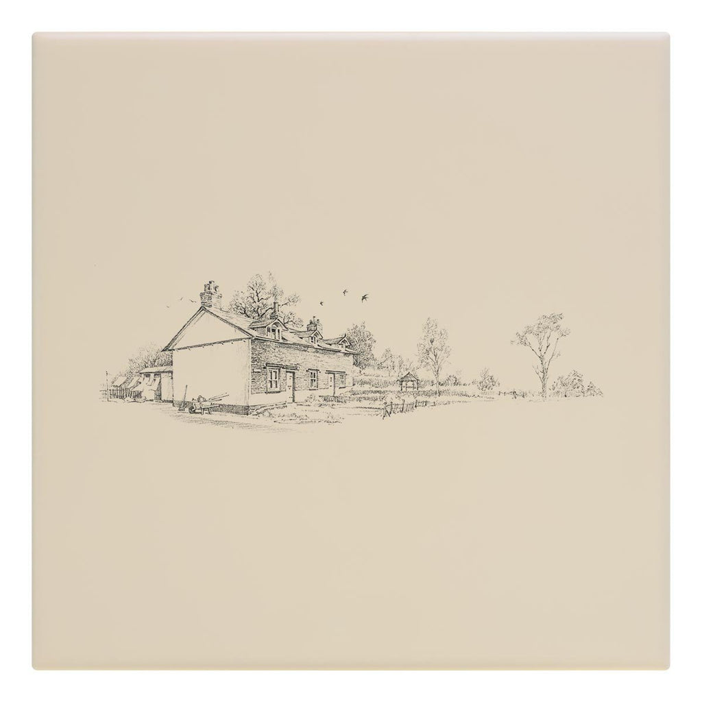 Country Cottages Tile - Countryman John