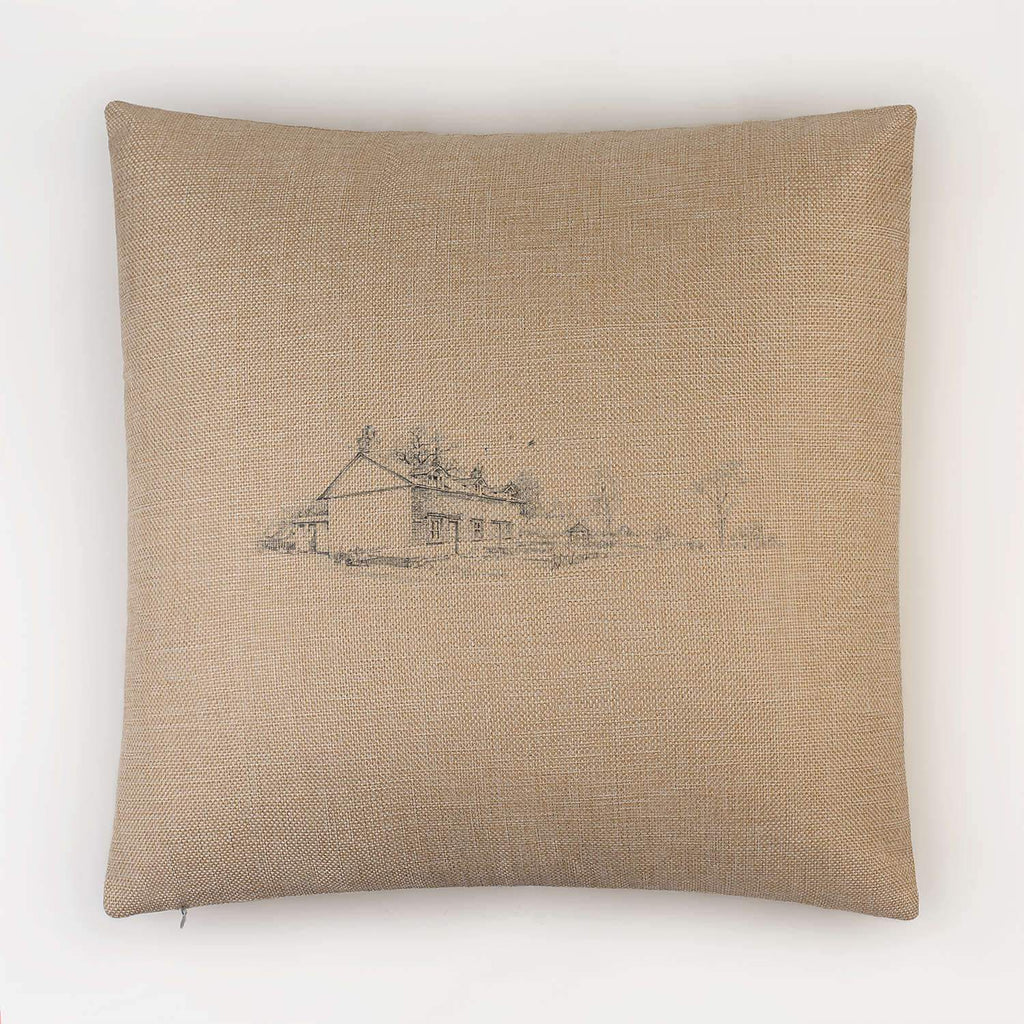 Country Cottages Cushion - Countryman John