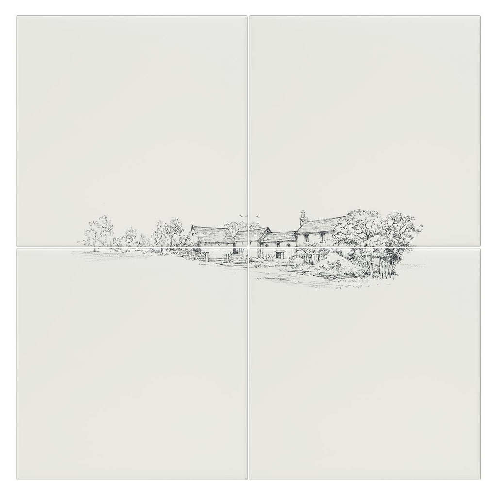 Country Farm House Tile - Countryman John