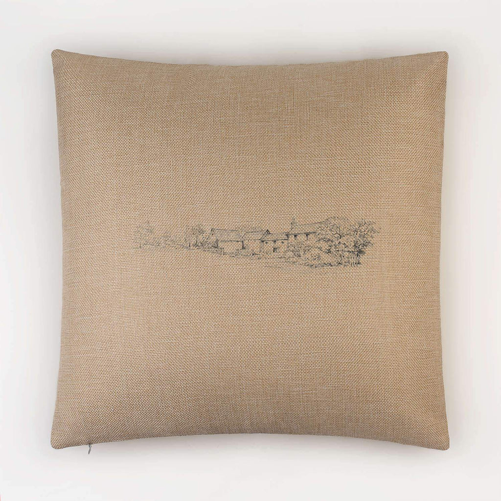 Country Farm House Cushion - Countryman John