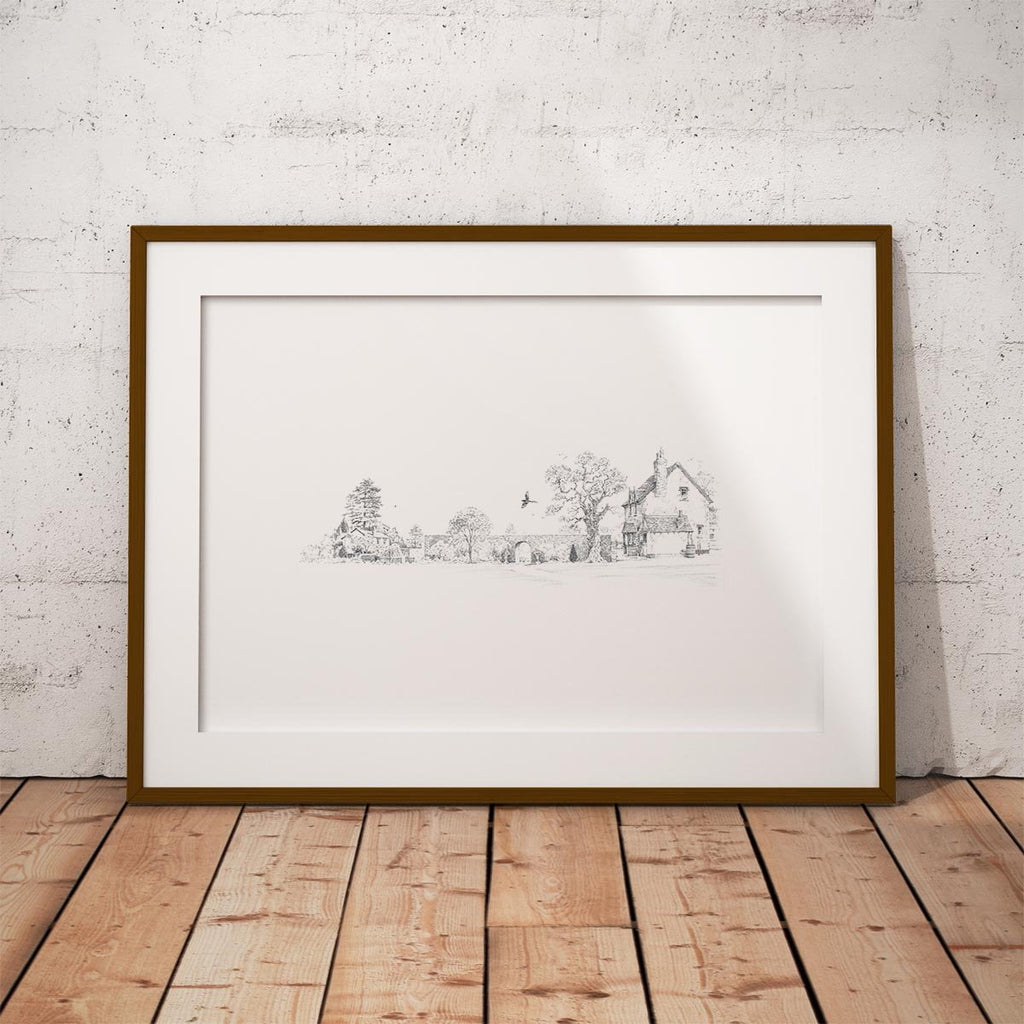 Country Homes Wall Art Print - Countryman John