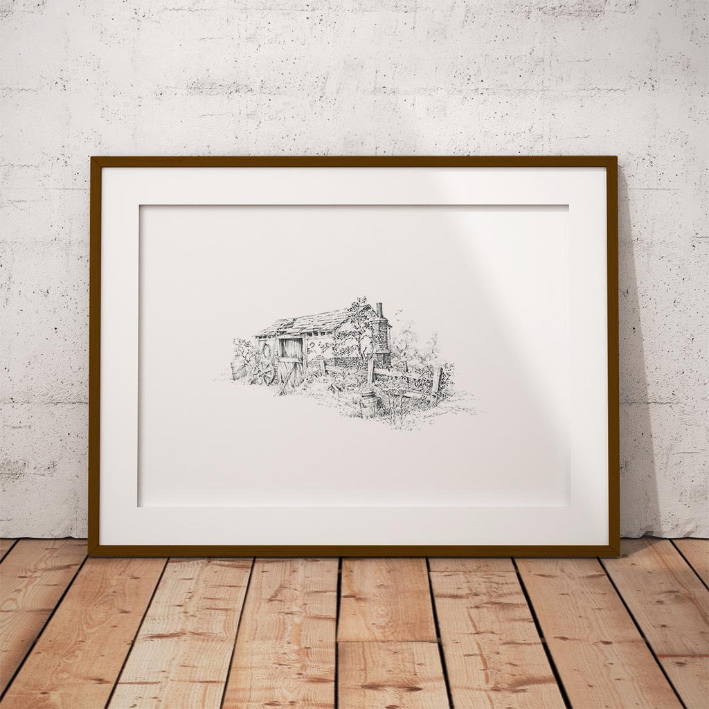 Old Barn Wall Art Print - Countryman John
