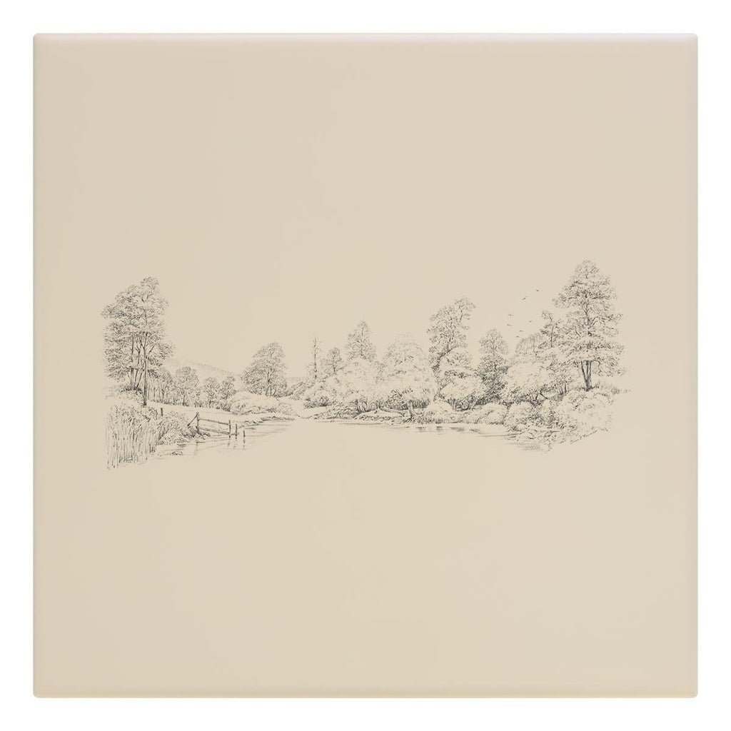 Countryside Panorama Tile - Countryman John