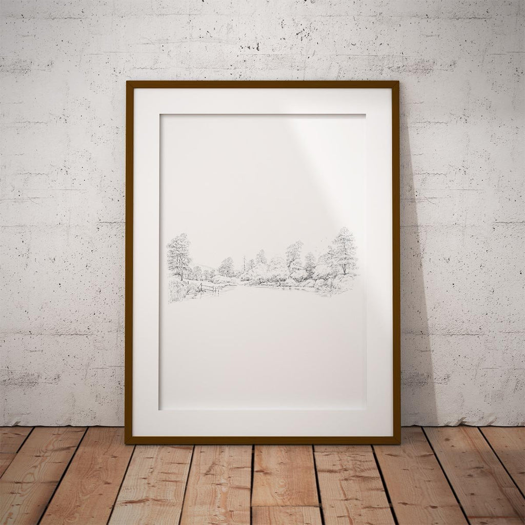 Countryside Panorama Wall Art Print - Countryman John