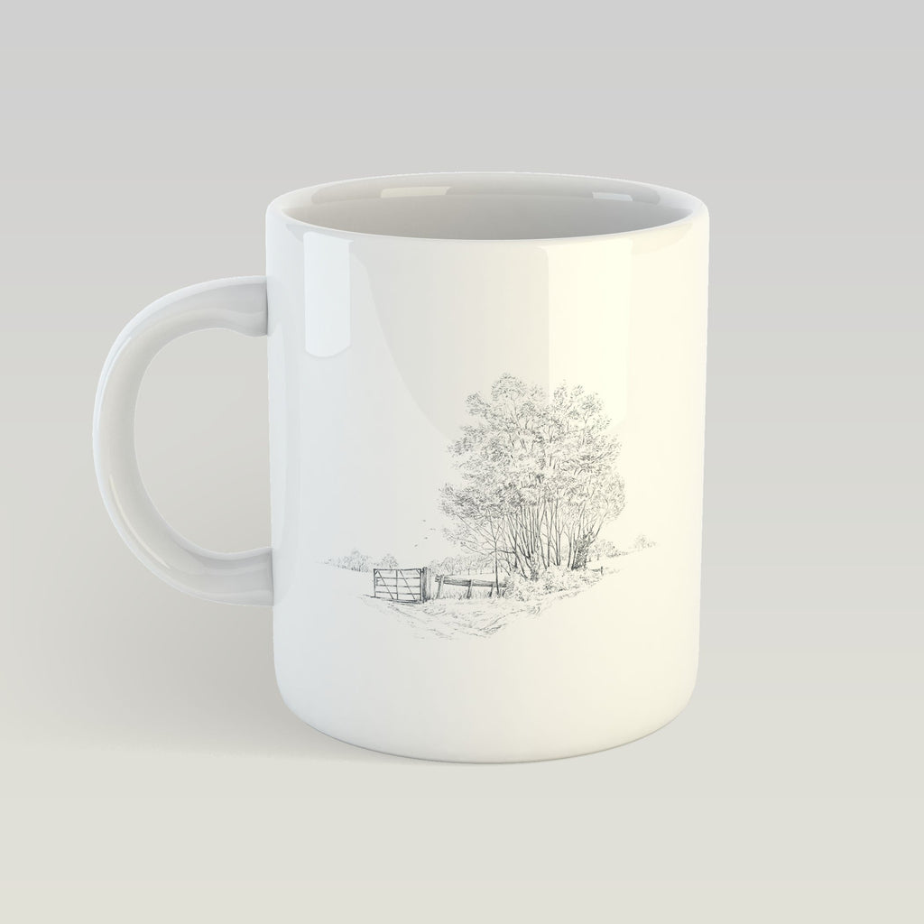 Gate and Copse Mug - Countryman John