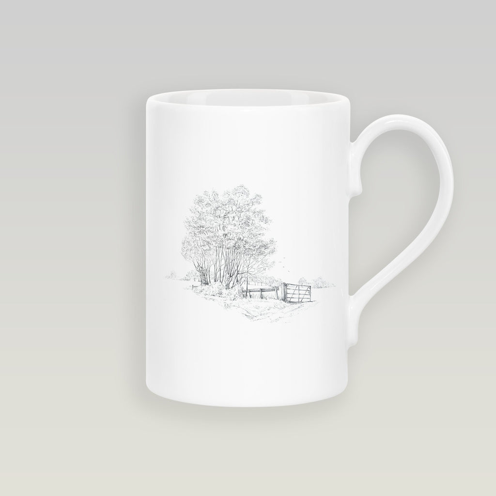 Gate and Copse Slim Mug - Countryman John