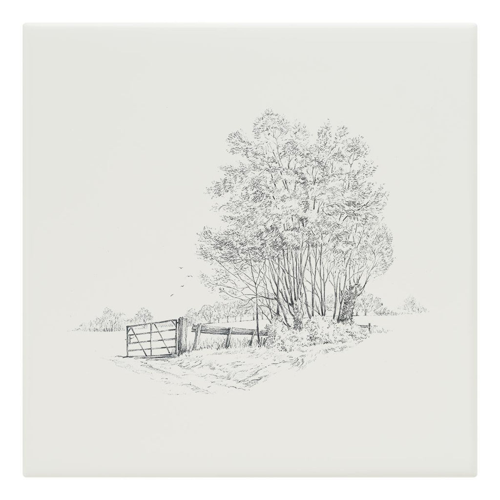 Gate and Copse Tile - Countryman John