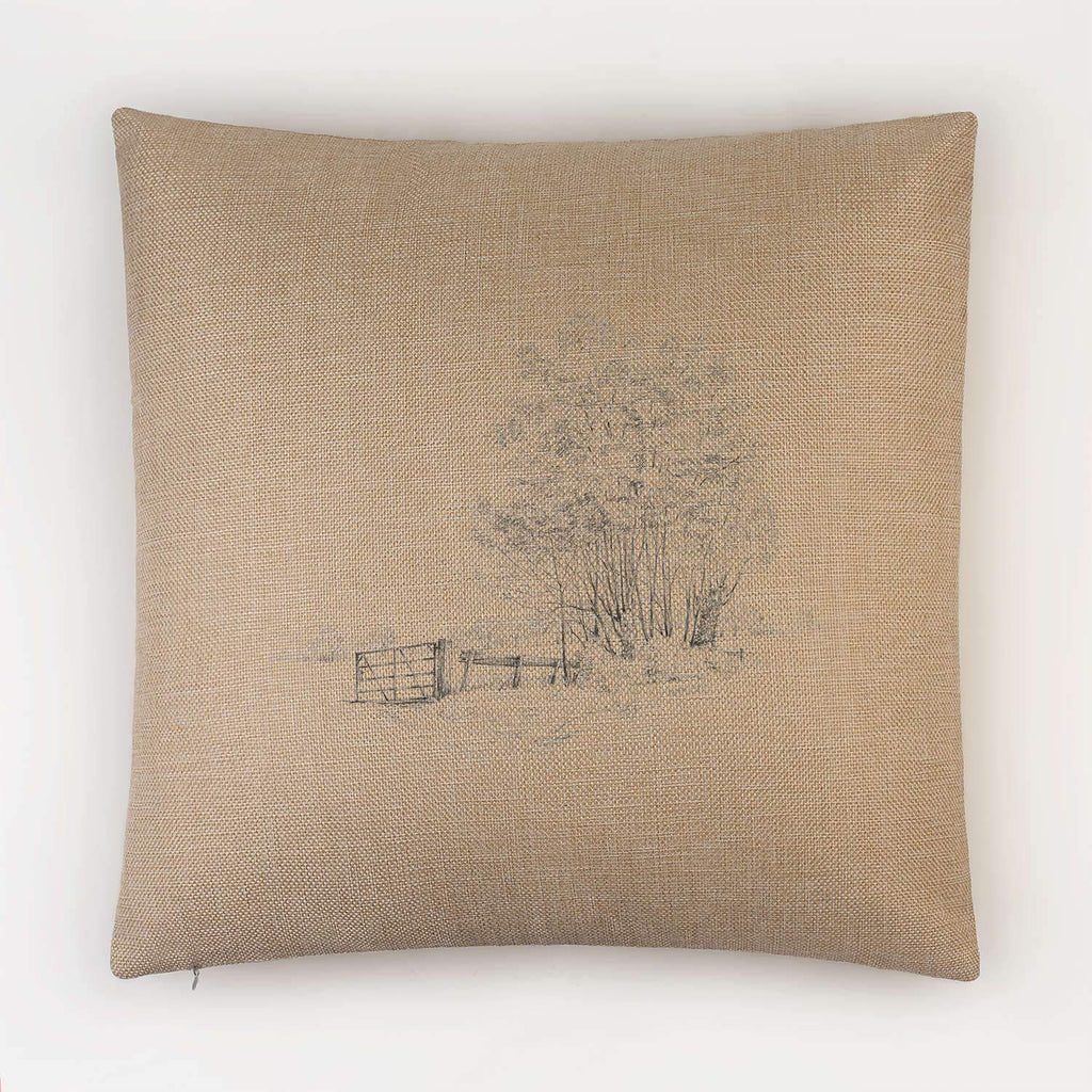 Gate and Copse Cushion - Countryman John