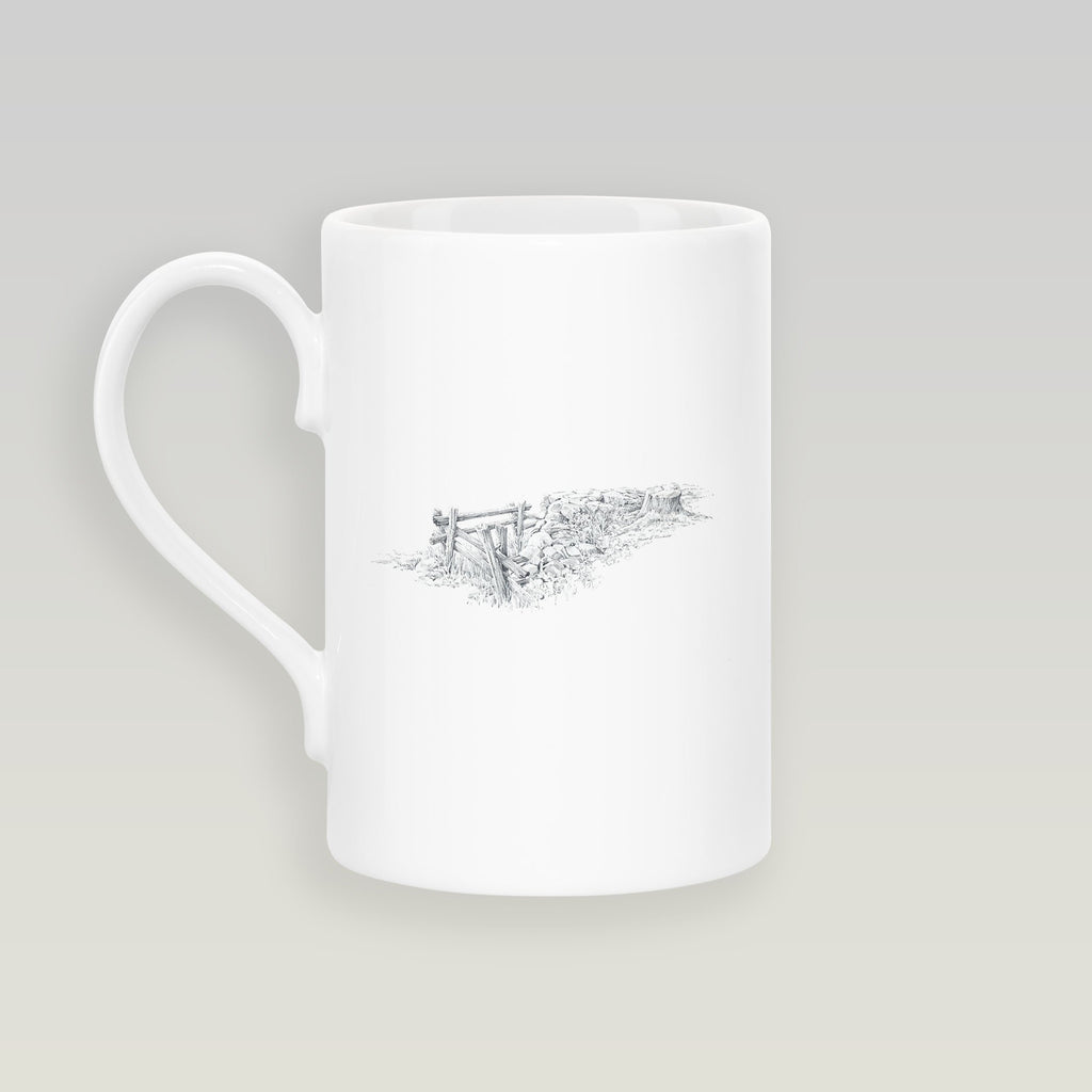Gate and Stump Slim Mug - Countryman John