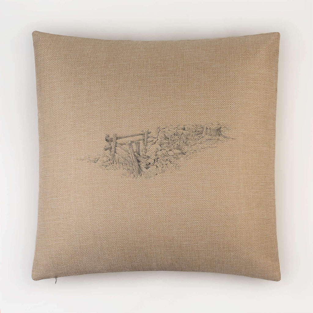 Gate and Stump Cushion - Countryman John