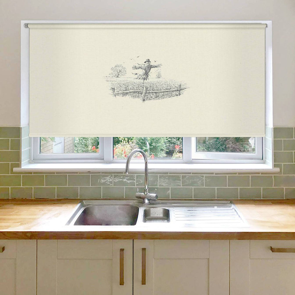 Scarecrow Roller Blind