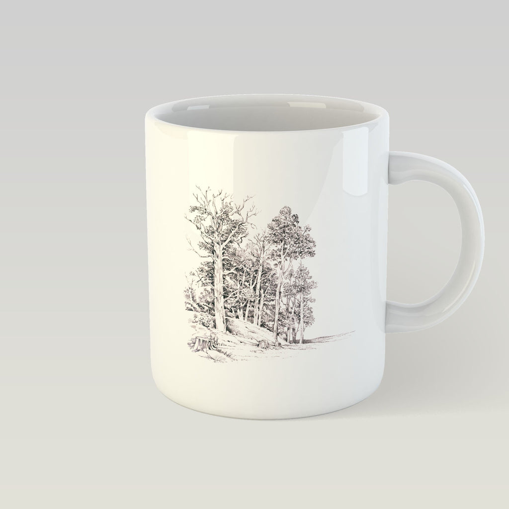 Stand of Elms Mug - Countryman John