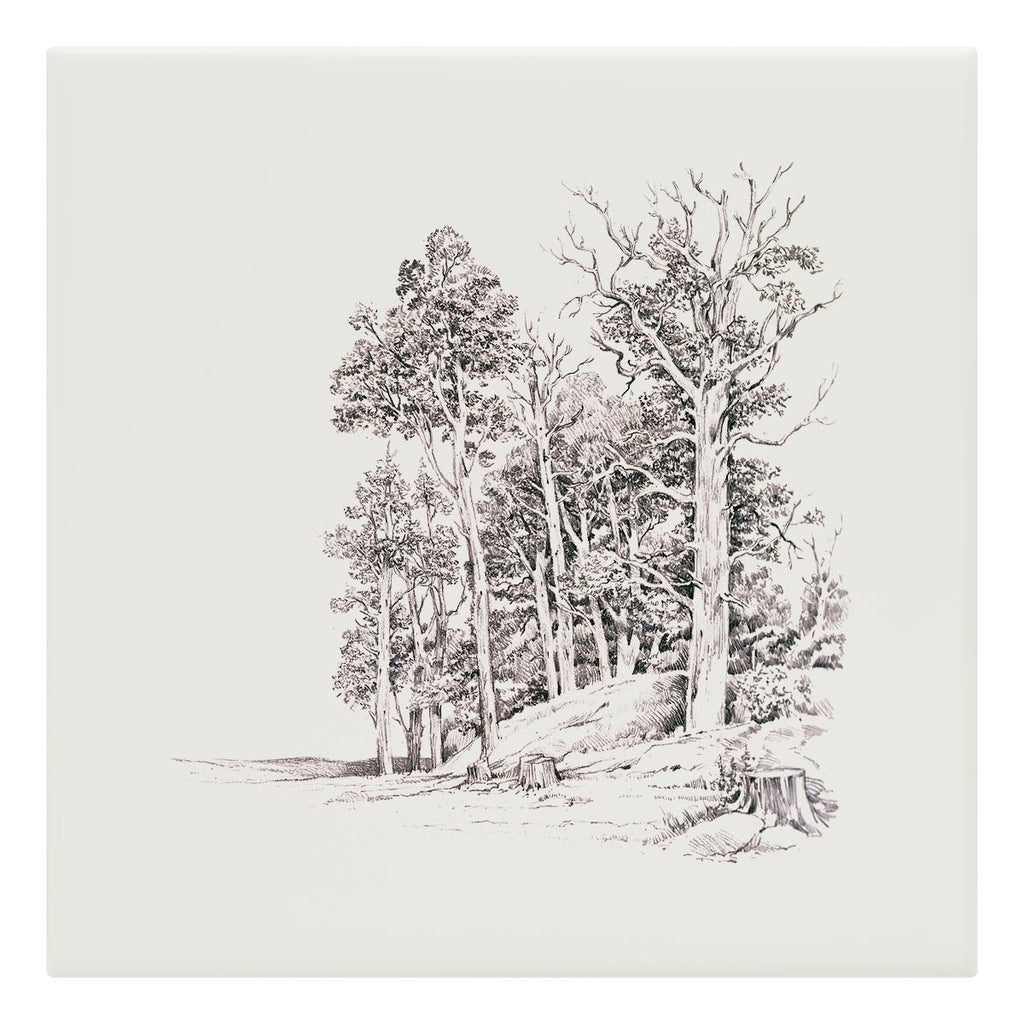 Stand of Elms Tile - Countryman John