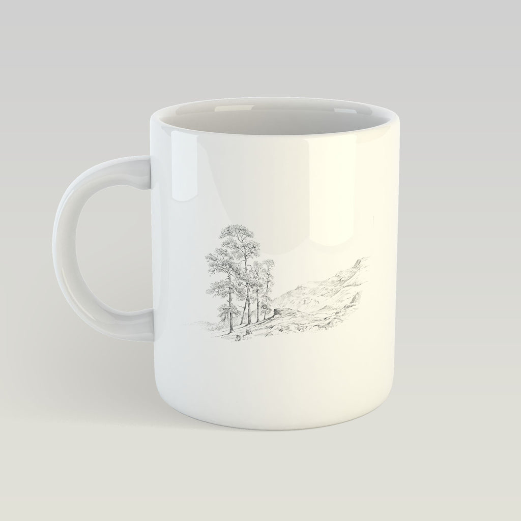 Tree and Hills Mug - Countryman John