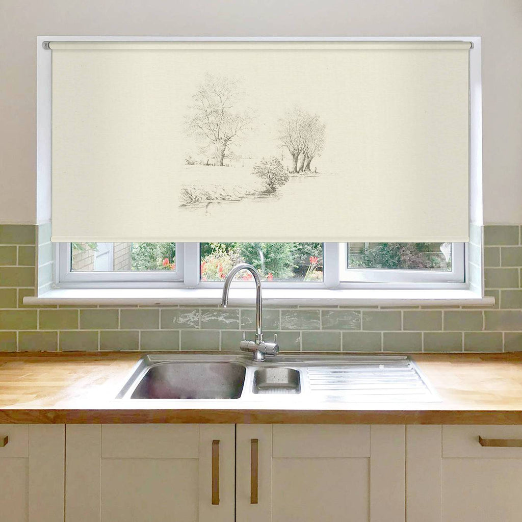 Trees along the Riverbank Roller Blind
