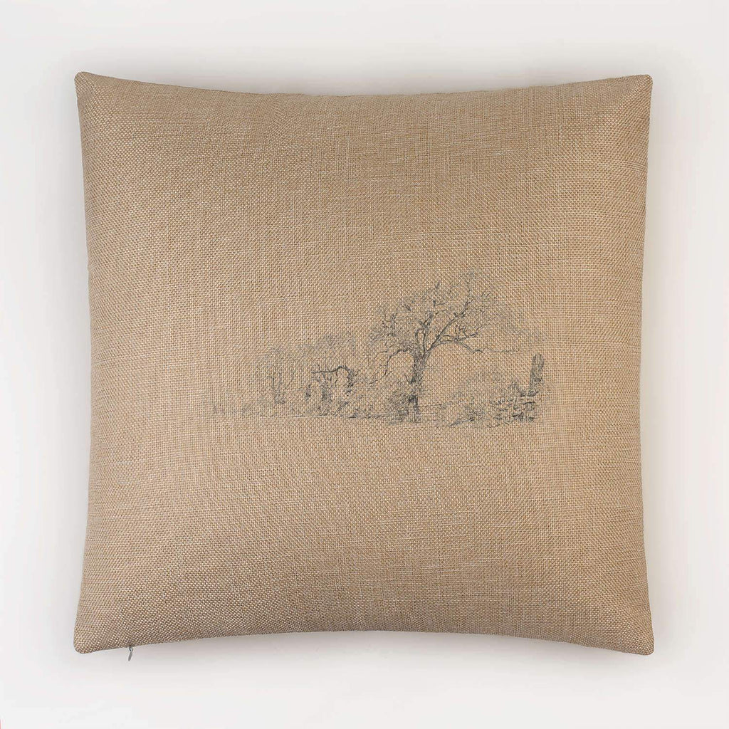 Trees and Lane Cushion - Countryman John