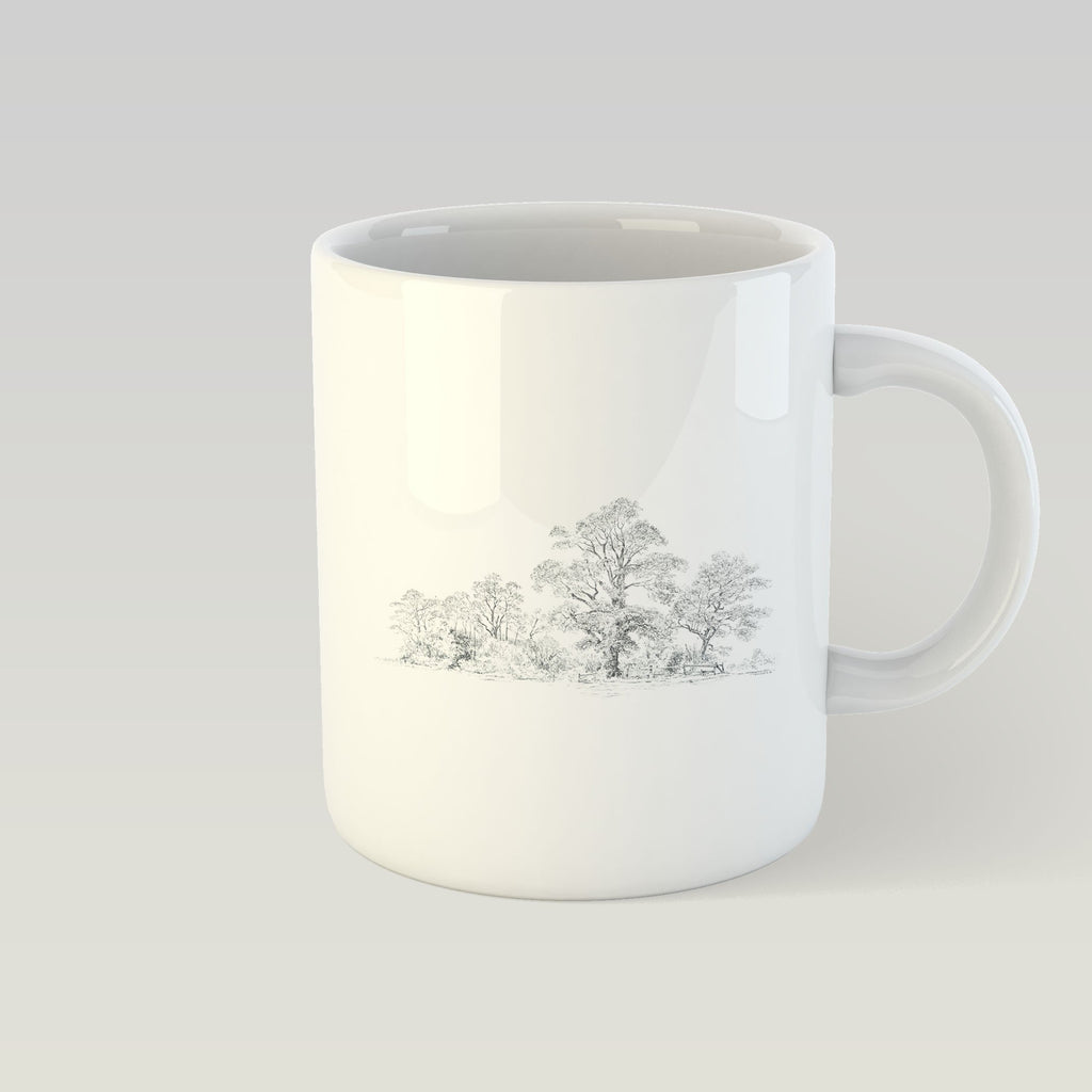 Wide Wood Mug - Countryman John