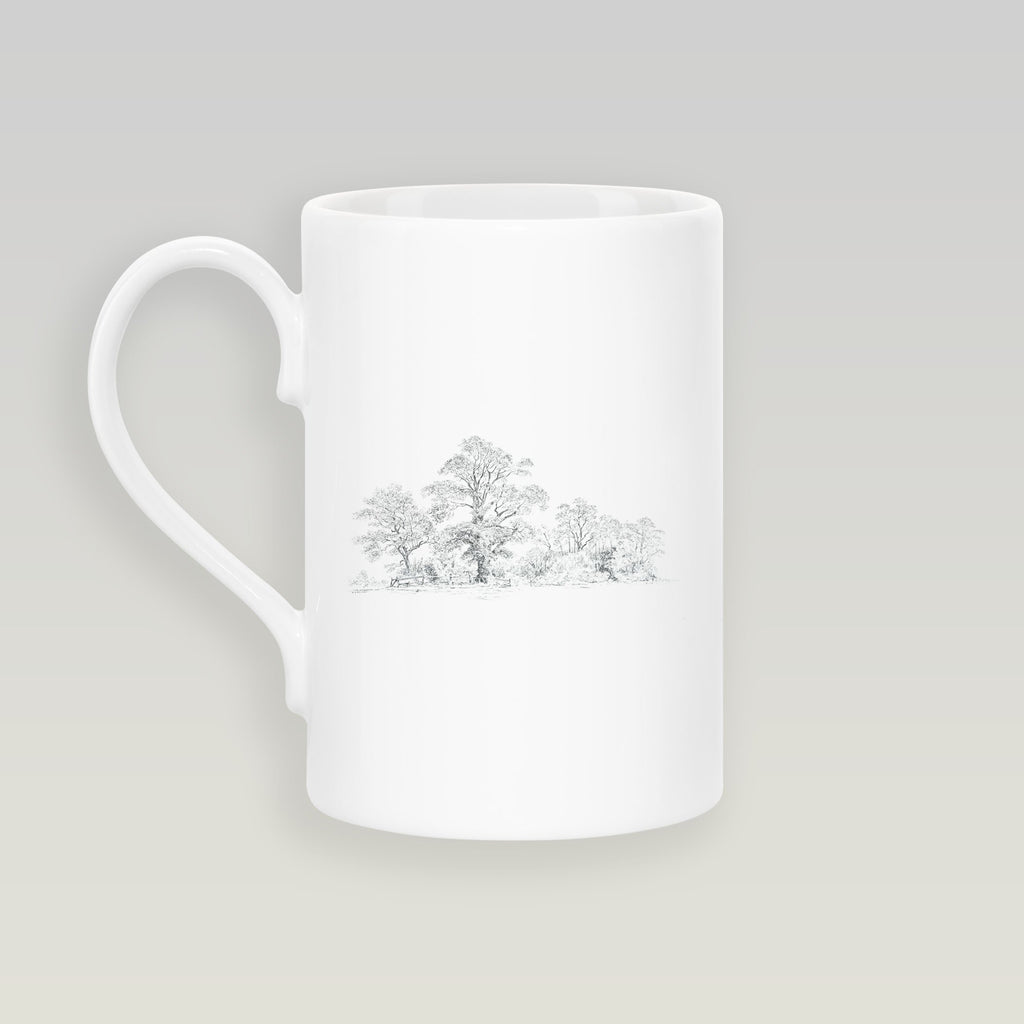 Wide Wood Slim Mug - Countryman John