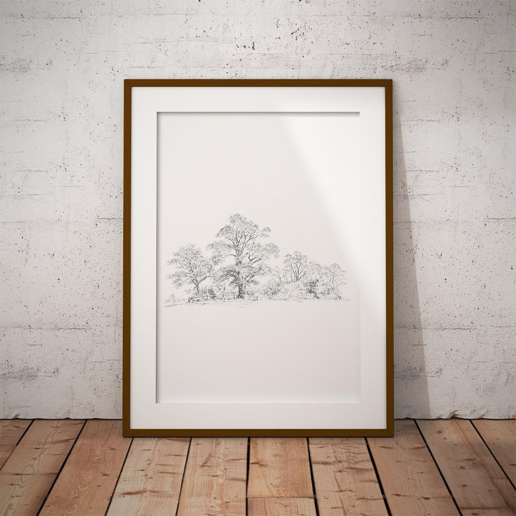 Wide Wood Wall Art Print - Countryman John