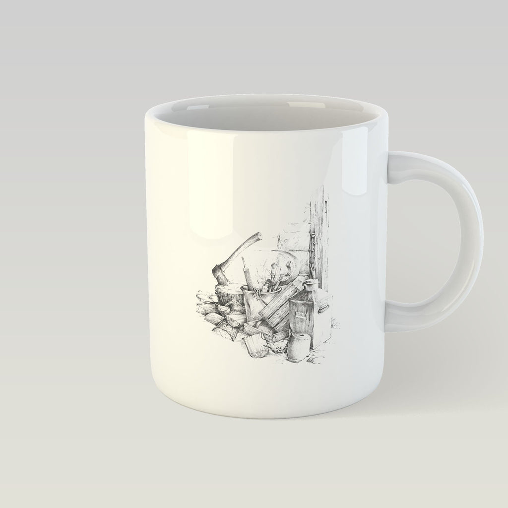 Woodpile and Axe Mug - Countryman John