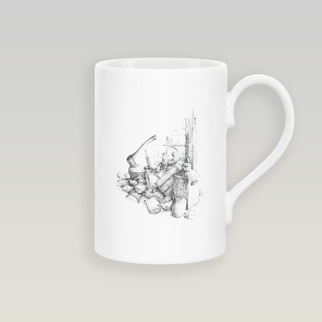 Woodpile and Axe Slim Mug - Countryman John