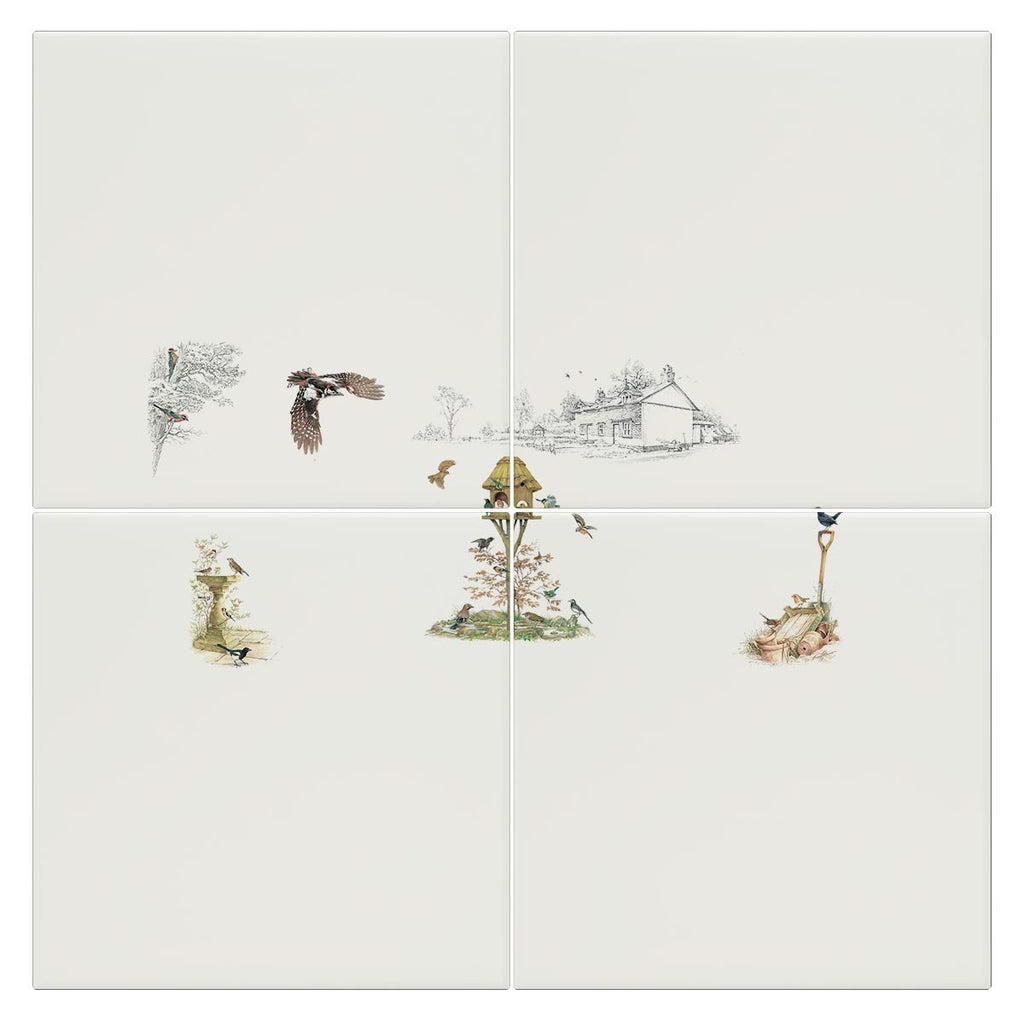 Birds of the Garden Tile - Countryman John