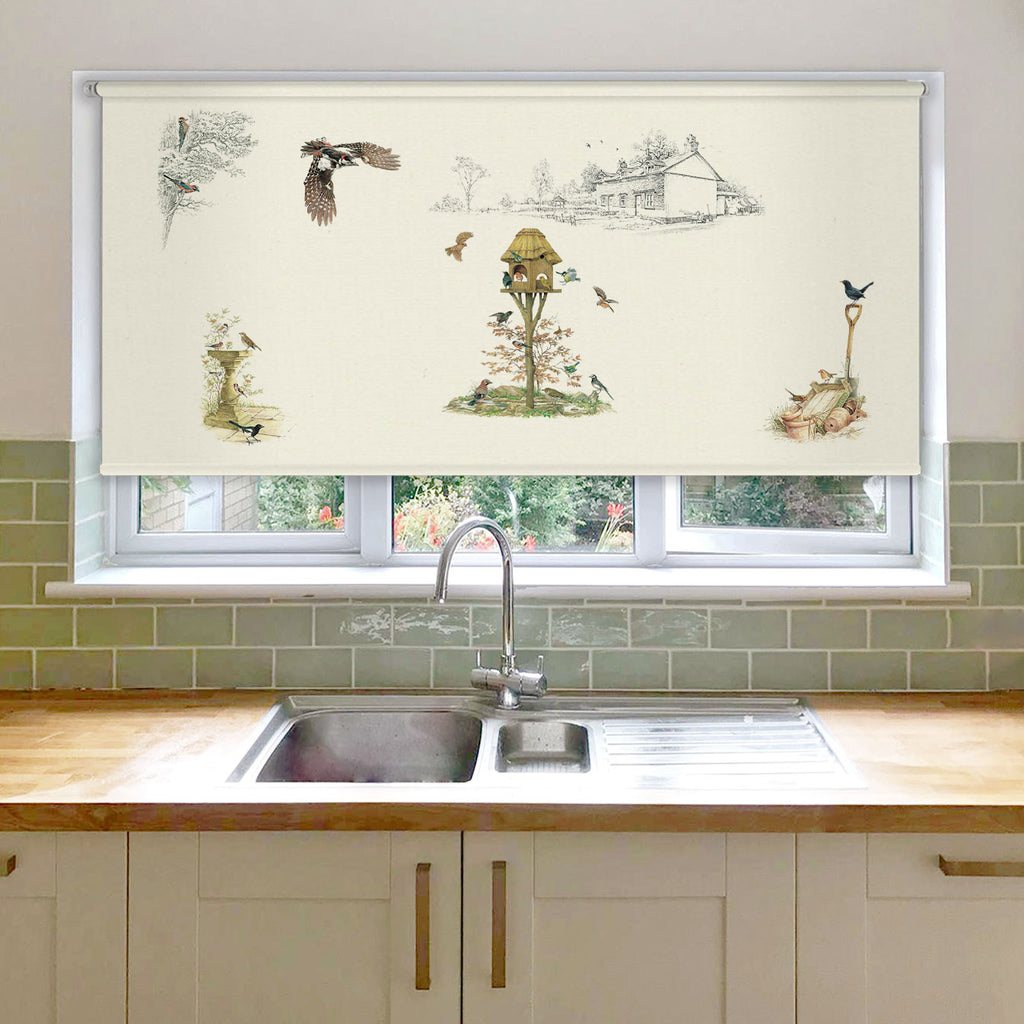 Birds of the Garden Roller Blind