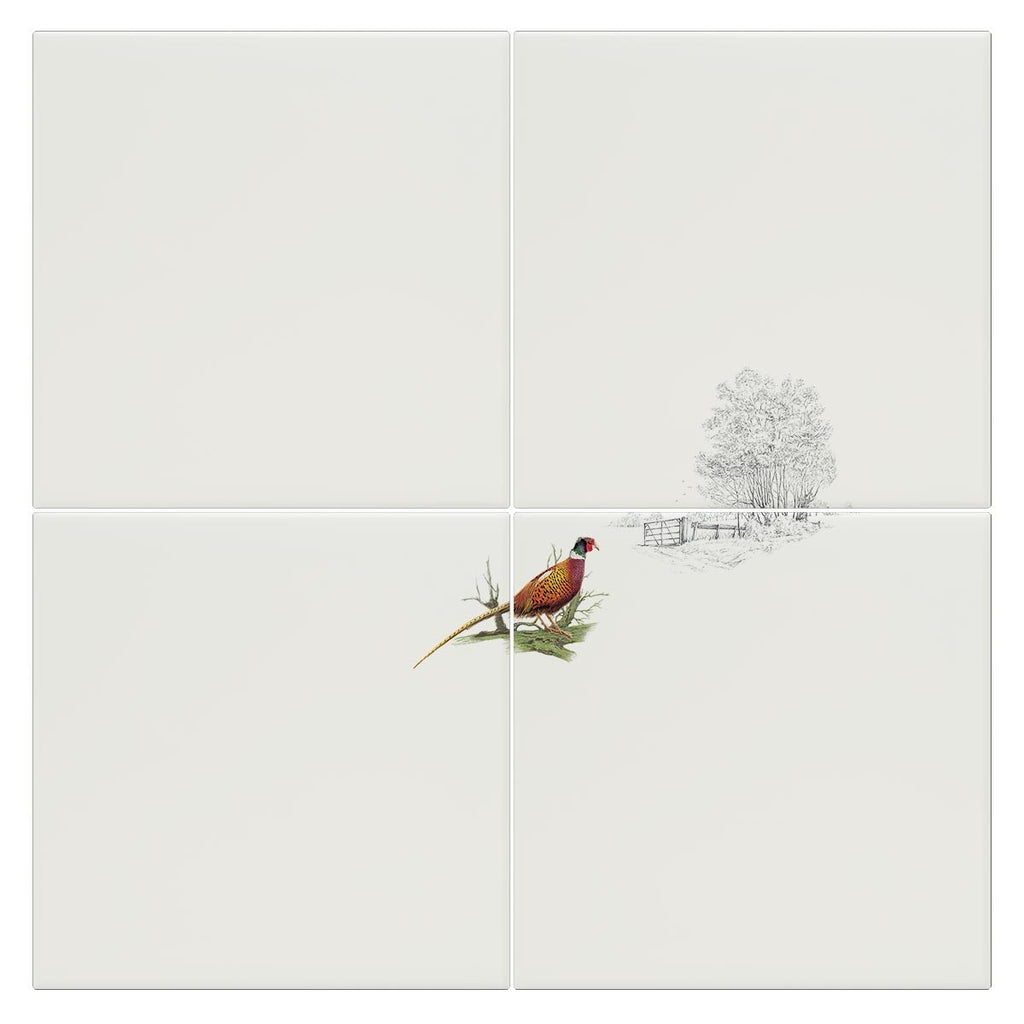 Pheasant Alone Tile - Countryman John