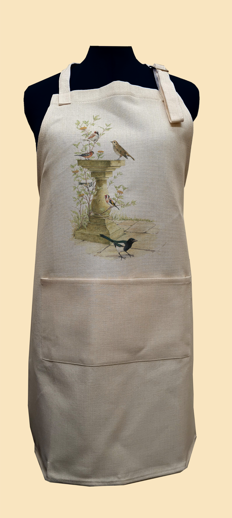 Bird Bath Apron