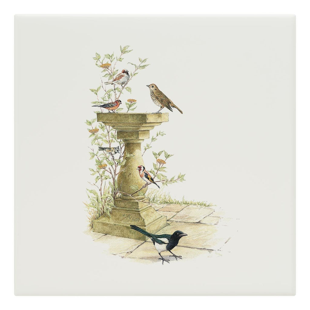 Bird Bath Tile - Countryman John