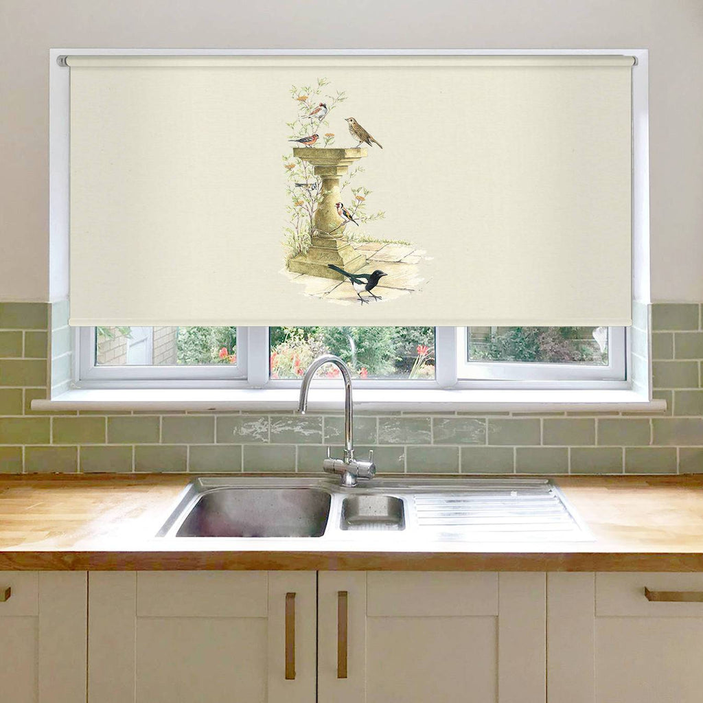 Bird Bath Roller Blind