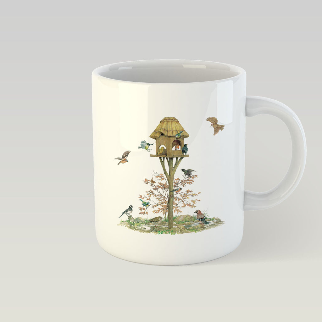 Feeding Birds Mug - Countryman John