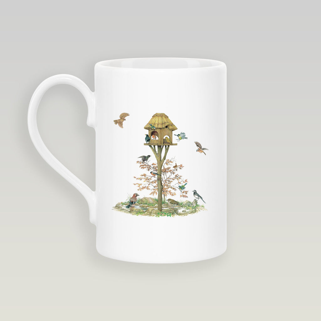 Feeding Birds Slim Mug - Countryman John