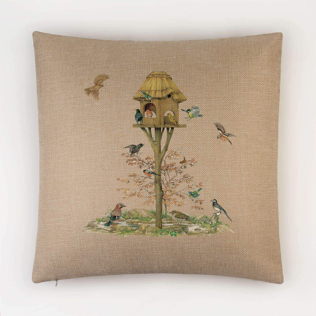 Feeding Birds Cushion - Countryman John