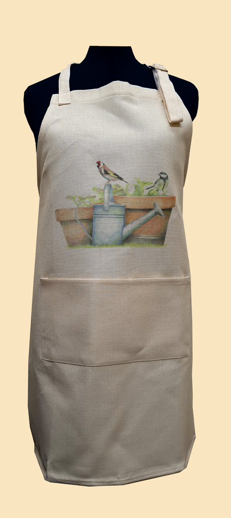 Great Tit and Goldfinch Apron