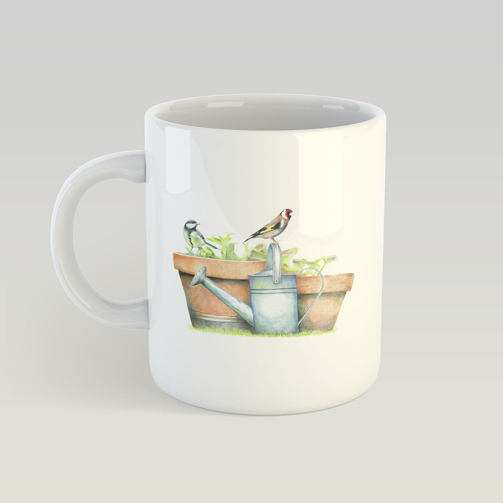 Great Tit and Goldfinch Mug - Countryman John