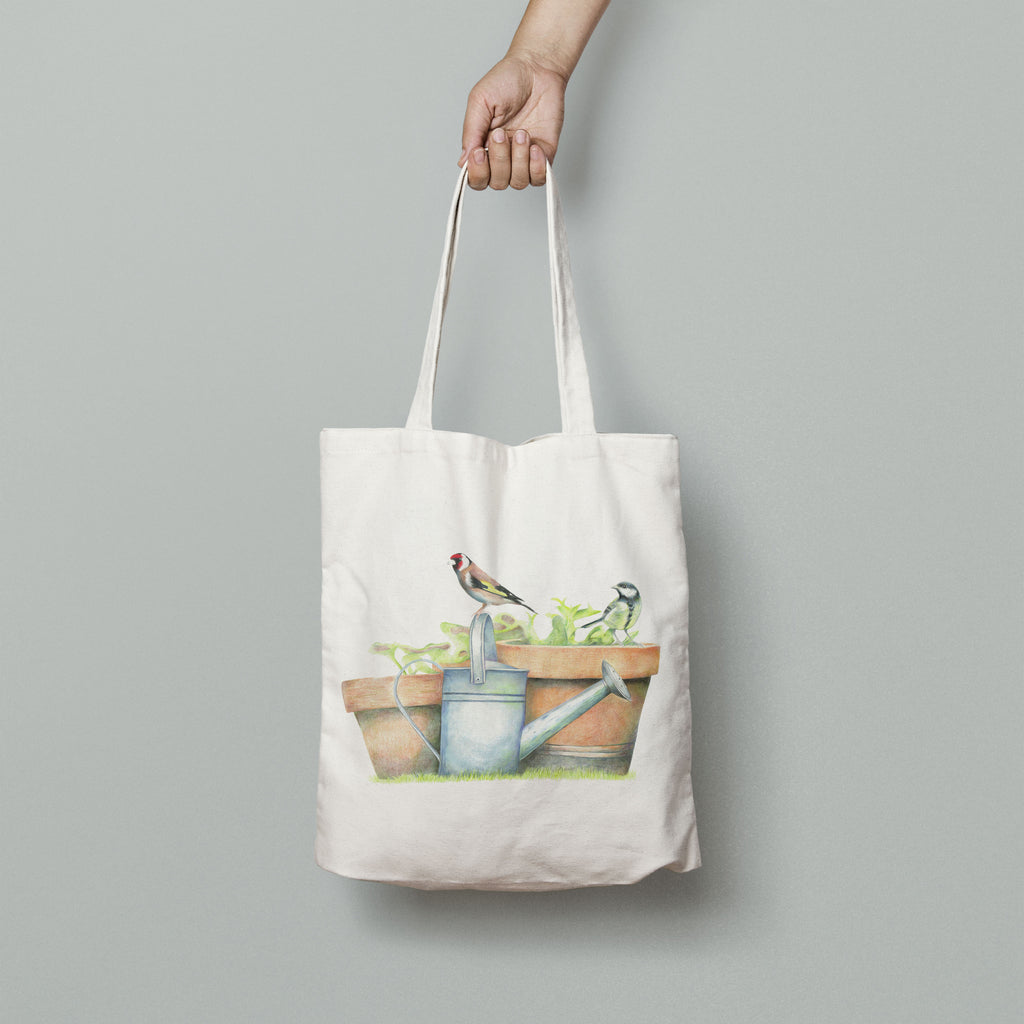 Great Tit and Goldfinch Bag