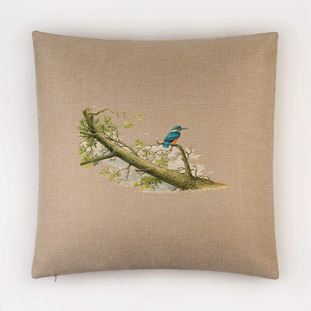 Kingfisher Cushion - Countryman John