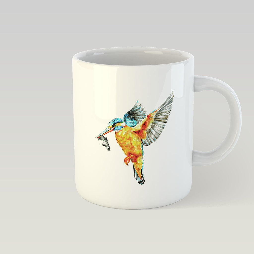 Kingfisher in Flight Mug - Countryman John