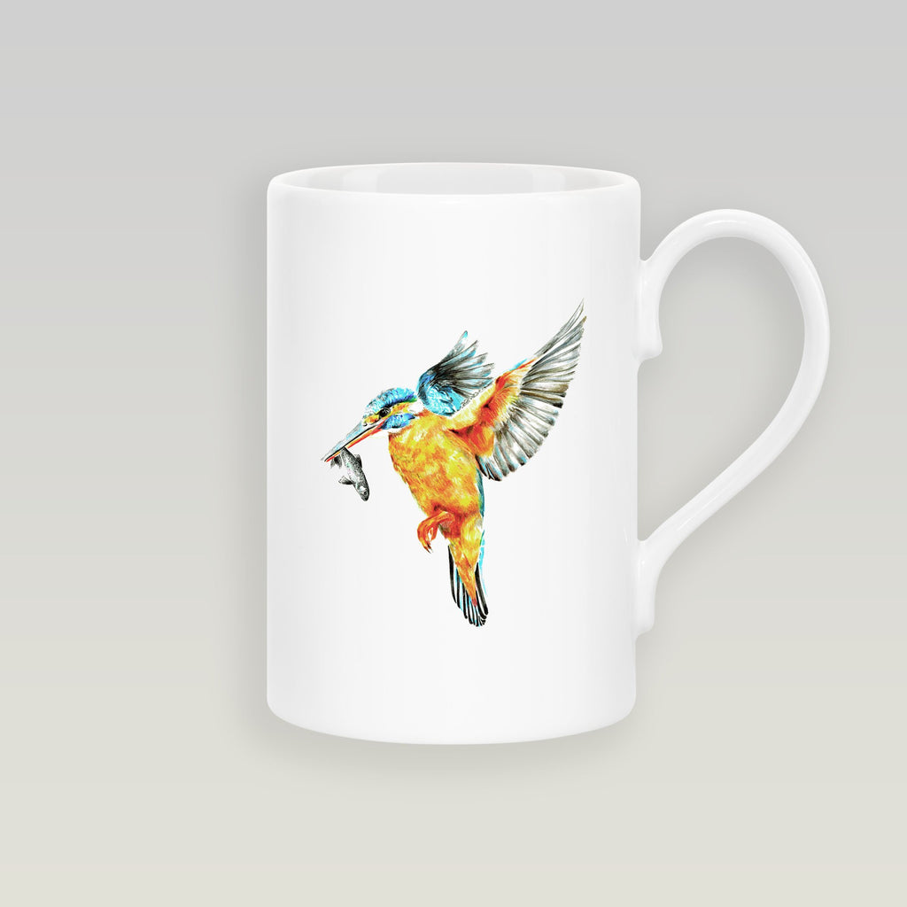 Kingfisher in Flight Slim Mug - Countryman John