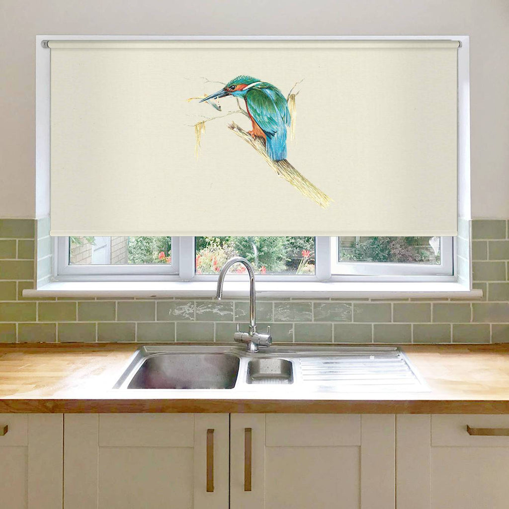 Kingfisher with Catch Roller Blind